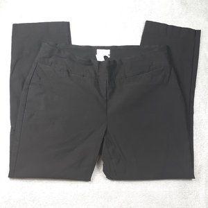 Charter Club Cambridge Slim Black PullOn Pants 18W